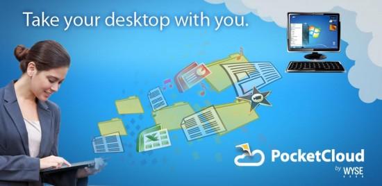 Wyse PocketCloud, named Best Android Tablet Remote Desktop Client