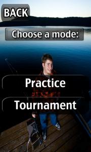 iFishing - Choose mode