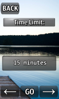 iFishing - Choose time limit