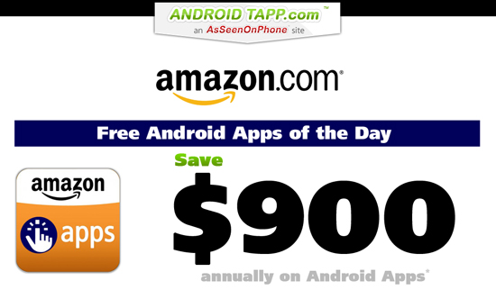 EXCLUSIVE: Amazon App Store Free Android Apps Saves Consumers $900/yr [Chart]