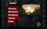 Battleheart Main Menu