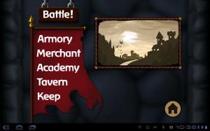 Battleheart Main Menu