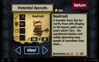Battleheart Recruits
