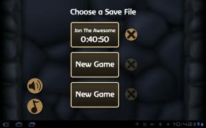 Battleheart Saved Games