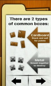 Box Buster - Good game instructions and help.