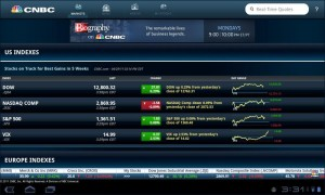 CNBC Real-Time for Android US Stock Indexes