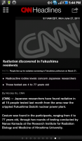 CNN for Android Headlines