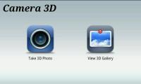 Camera3D - Menu view