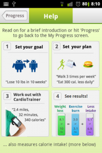 Cardio Trainer Pro Weight Loss Help