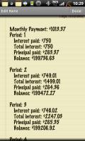 Classic Notes Mortgage Calculator