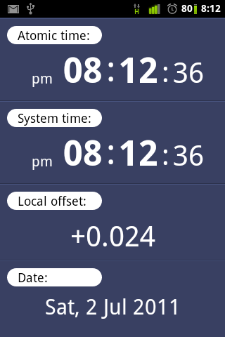 ClockSync is the app for those who are neurotic about being perfectly on time
