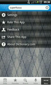 Dictionary.Com - Diamonds background