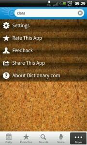 Dictionary.Com - Wood chip background