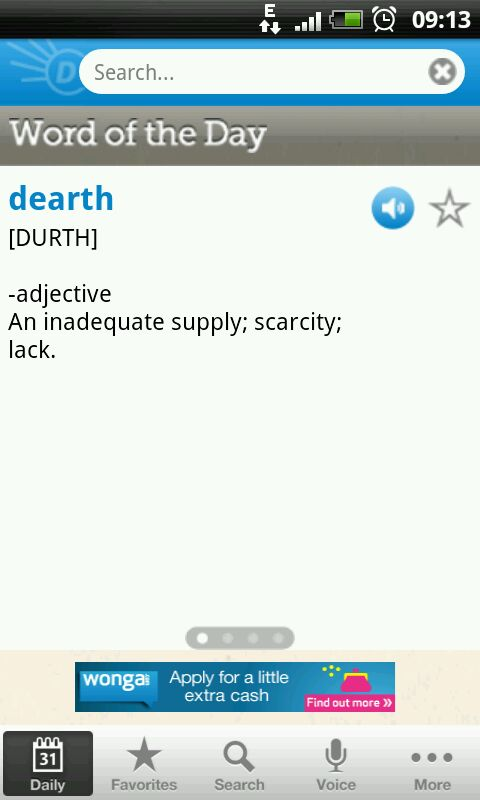 Dictionary.com Official App, Loaded with Cool Features besides Definitions