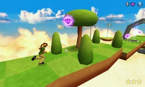 Diversion - 3D environment, although your running is more linear