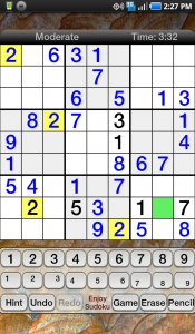 Enjoy Sudoku Game Play 2