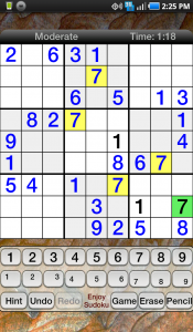 Enjoy Sudoku Game Play 3