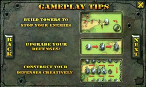 Fieldrunners - Gameplay tips