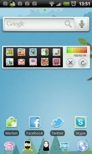 GO Launcher EX - Cartoon theme.