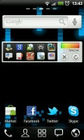 GO Launcher EX - Home screen