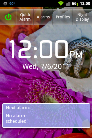 Gentle Alarm is a feature-rich alarm replacement for Android