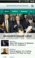 Huffington Post - Home page