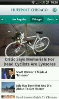 Huffington Post - Local stories section for the US