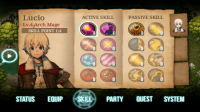 Inotia3 Mage Skill Tree
