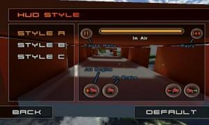 Jet Car Stunts Lite - Alter HUD style