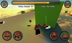 Jet Car Stunts Lite - I crashed, quite badly