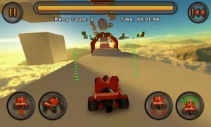 Jet Car Stunts Lite - In-game view