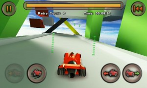 Jet Car Stunts Lite - In tutorial view