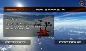 Jet Car Stunts Lite - Passing the air brake tutorial