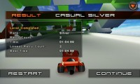 Jet Car Stunts Lite - Result screen 2