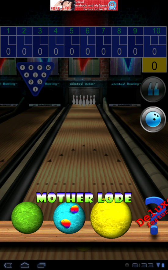 Let's Bowl is a pretty decent bowling simulator for Android