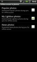 Lightbox Photos - Offline access to photos section