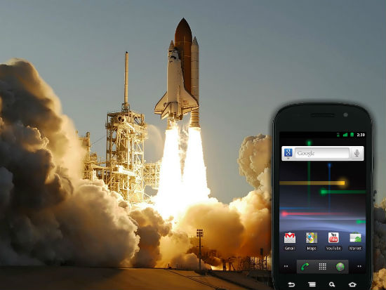 Android goes into space – Nexus S phone aboard the space shuttle Atlantis