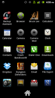 No Root Screenshot It Xperia Play App Drawer