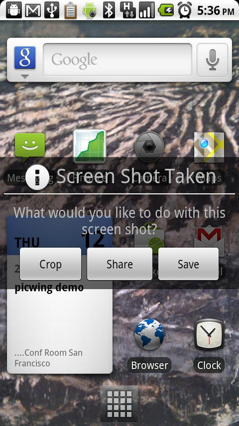 With No Root Screenshot It app you can now take Screenshots on your Xperia Play and other Unrooted Devices!