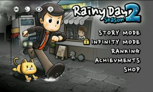 Rainy Day 2 - Main menu