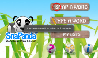 SnaPanda Main Screen