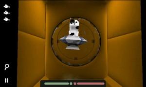 Spacecat (3D) - Navigate tunnels.