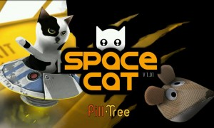 Spacecat (3D) - Splash Page