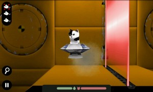 Spacecat (3D) - Whatever you do, don't get caught in the lasers!