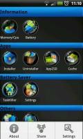 Superbox Pro - Main screen menu