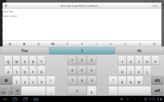 Swiftkey Tablet X is one of the best keyboards for Android tablets available!