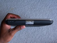 Toshiba Thrive Thickness Compared to Samsung Galaxy Tab 10.1