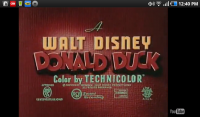 Web Tv for Android Donald Duck