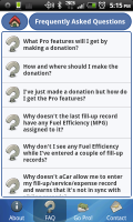 aCar FAQs