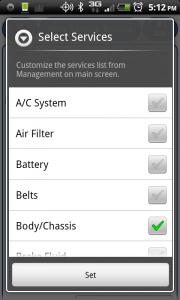 aCar Select Services